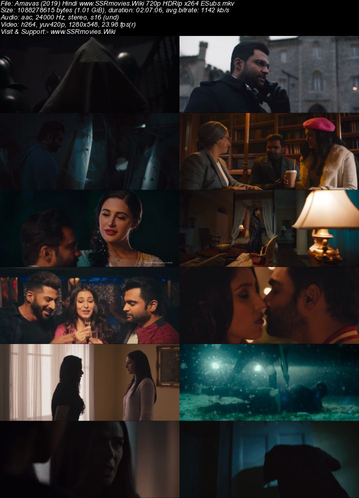 Amavas (2019) Hindi 720p HDRip x264 1GB ESubs Movie Download