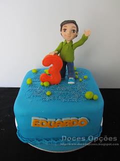 Bolo do 3º aniversário do Eduardo