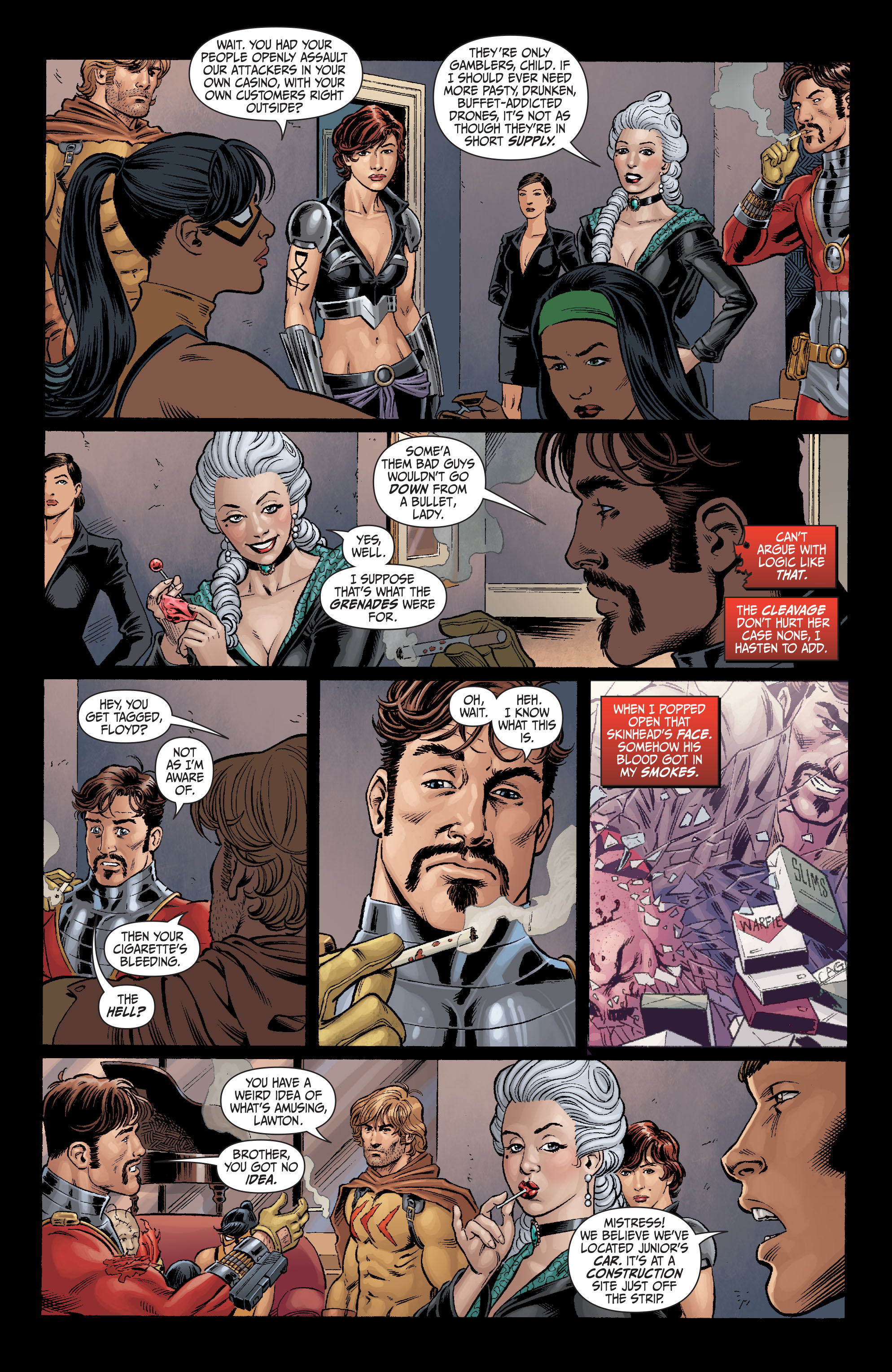Read online Secret Six (2008) comic -  Issue #5 - 17