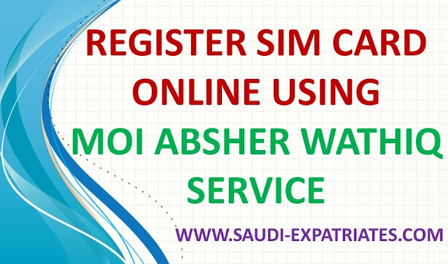WATHIQ SERVICE FOR SIM CARD REGISTRATION