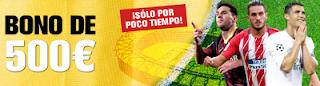 interwetten promocion bono 500 euros apuestas deportes 12-13 enero