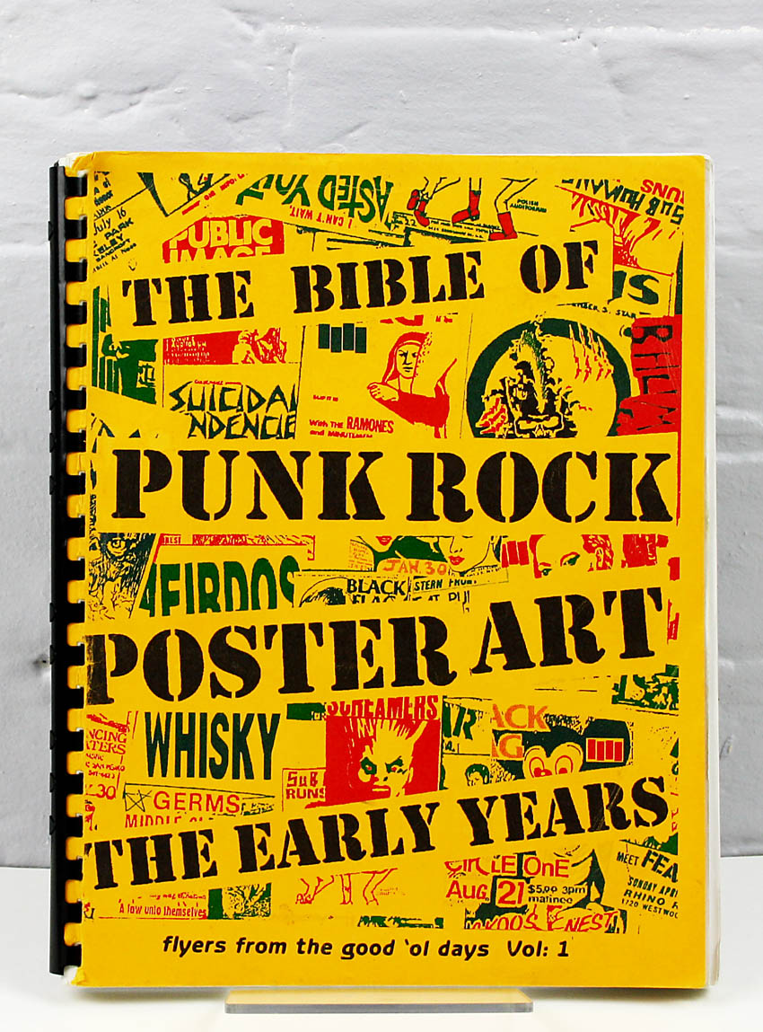 november-books: The Bible of Punk Rock Poster Art: the Early Years