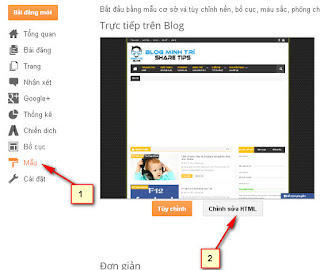 Thay đổi hình con trỏ chuột cho Blogspot