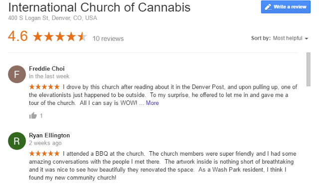 International Church of Cannabis opens in Denver and people are going! 4