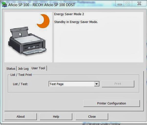 Useful Informations: RICOH SP100 PRINTER Solved Problem of