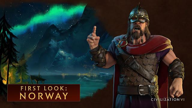 Civilization VI concreta el líder de Noruega y sus unidades exclusivas