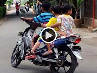 Dapat Kejutan Hadiah Motor dari Sang Ayah, Baru beberapa Meter Keluar Rumah, Tragis!