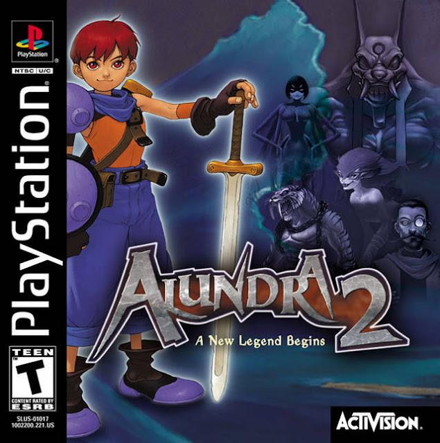 Alundra 2: A New Legend Begins - PSX - Portada