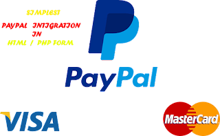 Simplest Paypal Intigration in HTML Form