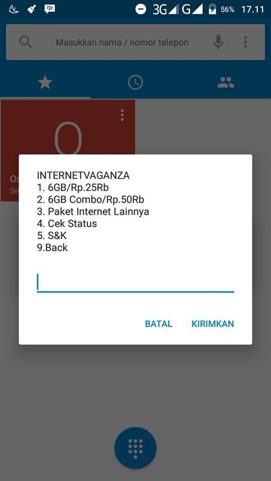 Cara Beli Paket Kuota Simpati 3G Murah 6 GB 25 Ribu