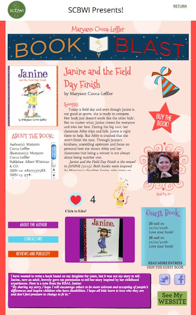 GO TO BOOK BLAST PAGE and learn more! (Like it!)