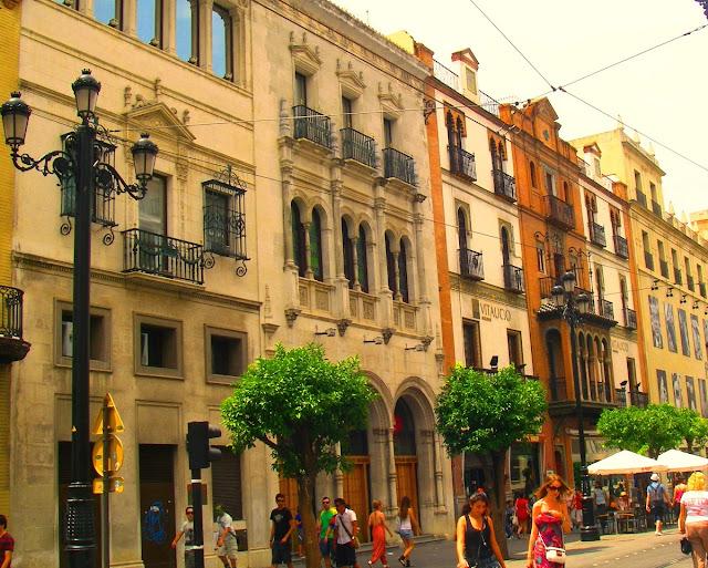 Sevilla i Spanien