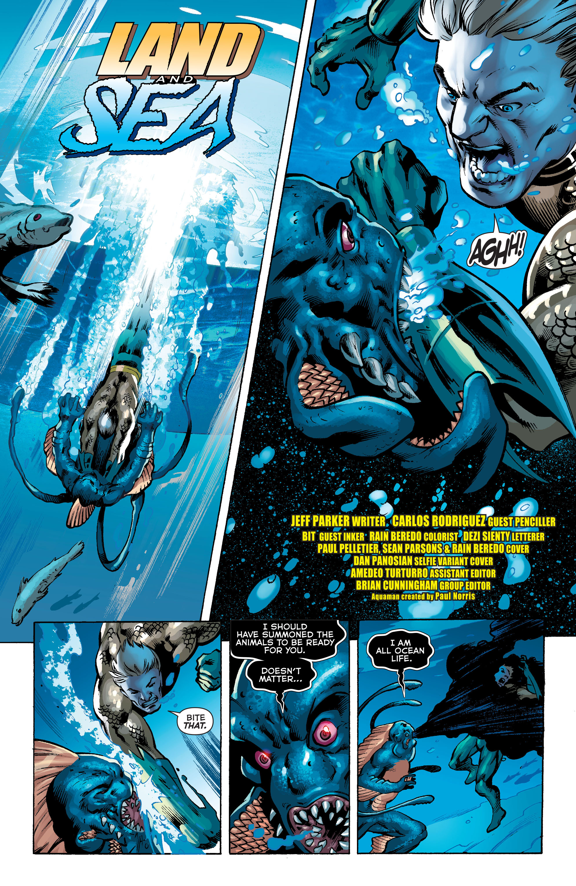 Read online Aquaman (2011) comic -  Issue #34 - 3