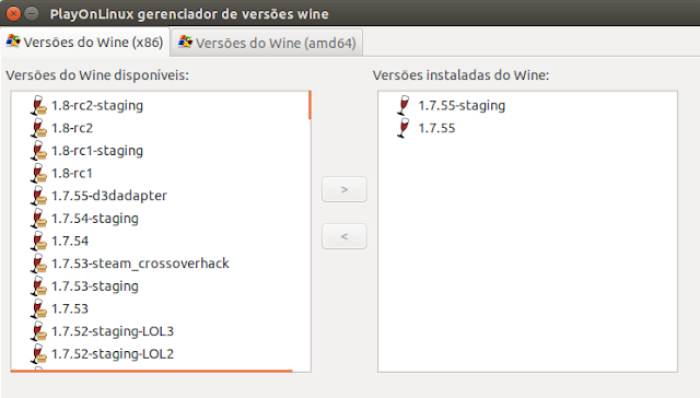Wine 1.8 PlayOnLinux