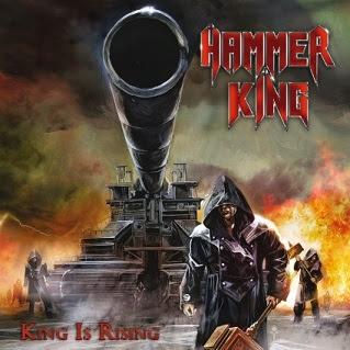 """Ακούστε τον δίσκο των Hammer King """"King Is Rising"""""""