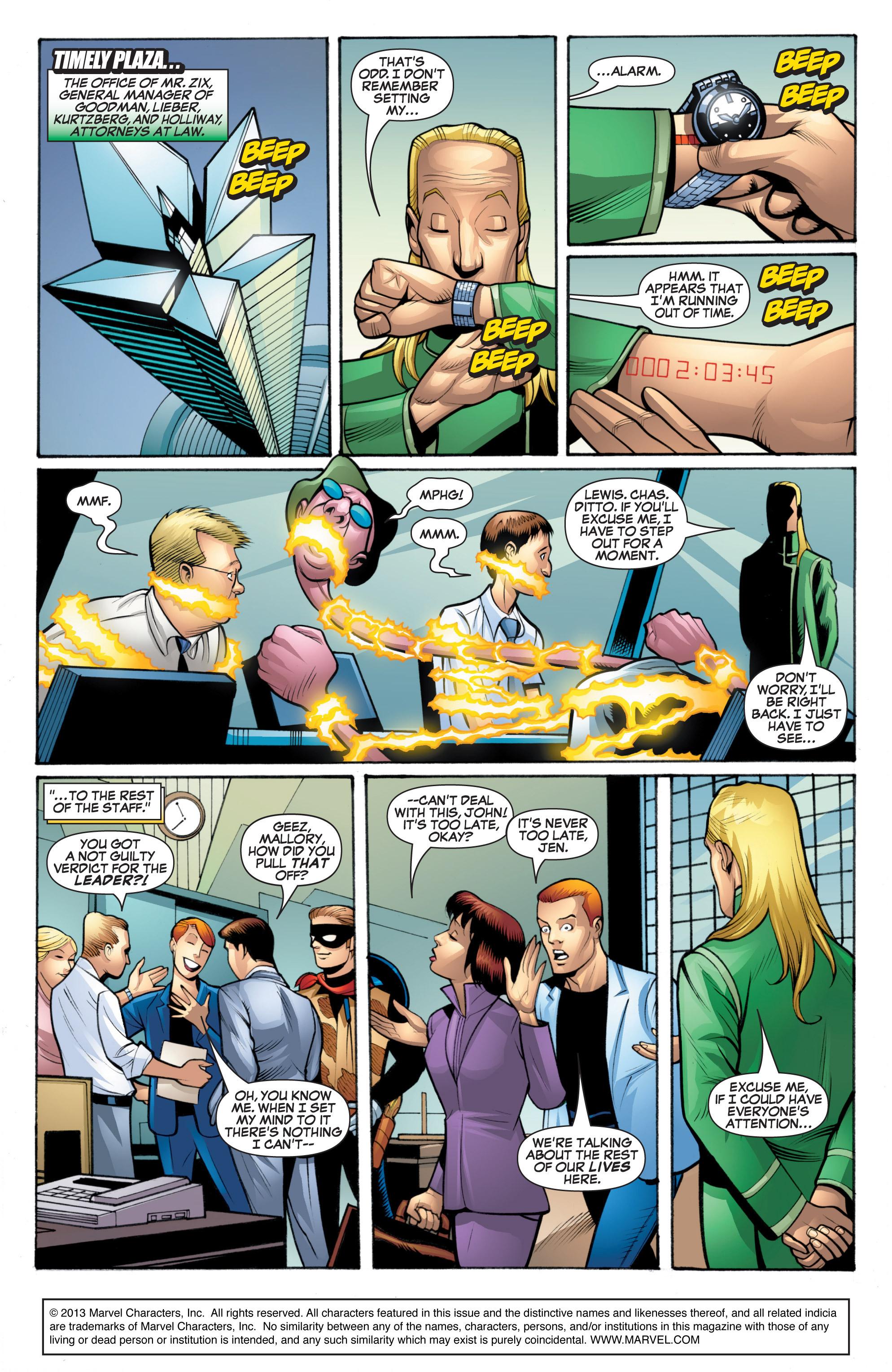 Read online She-Hulk (2005) comic -  Issue #20 - 2