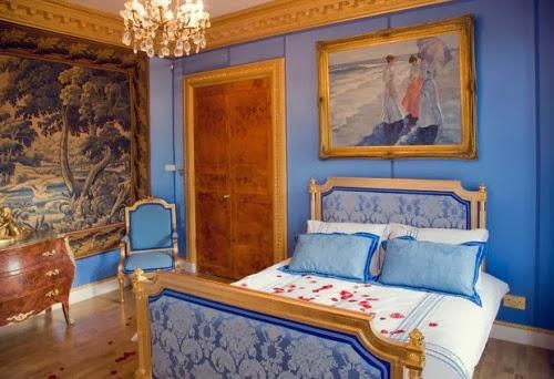 dormitorio estilo inglés