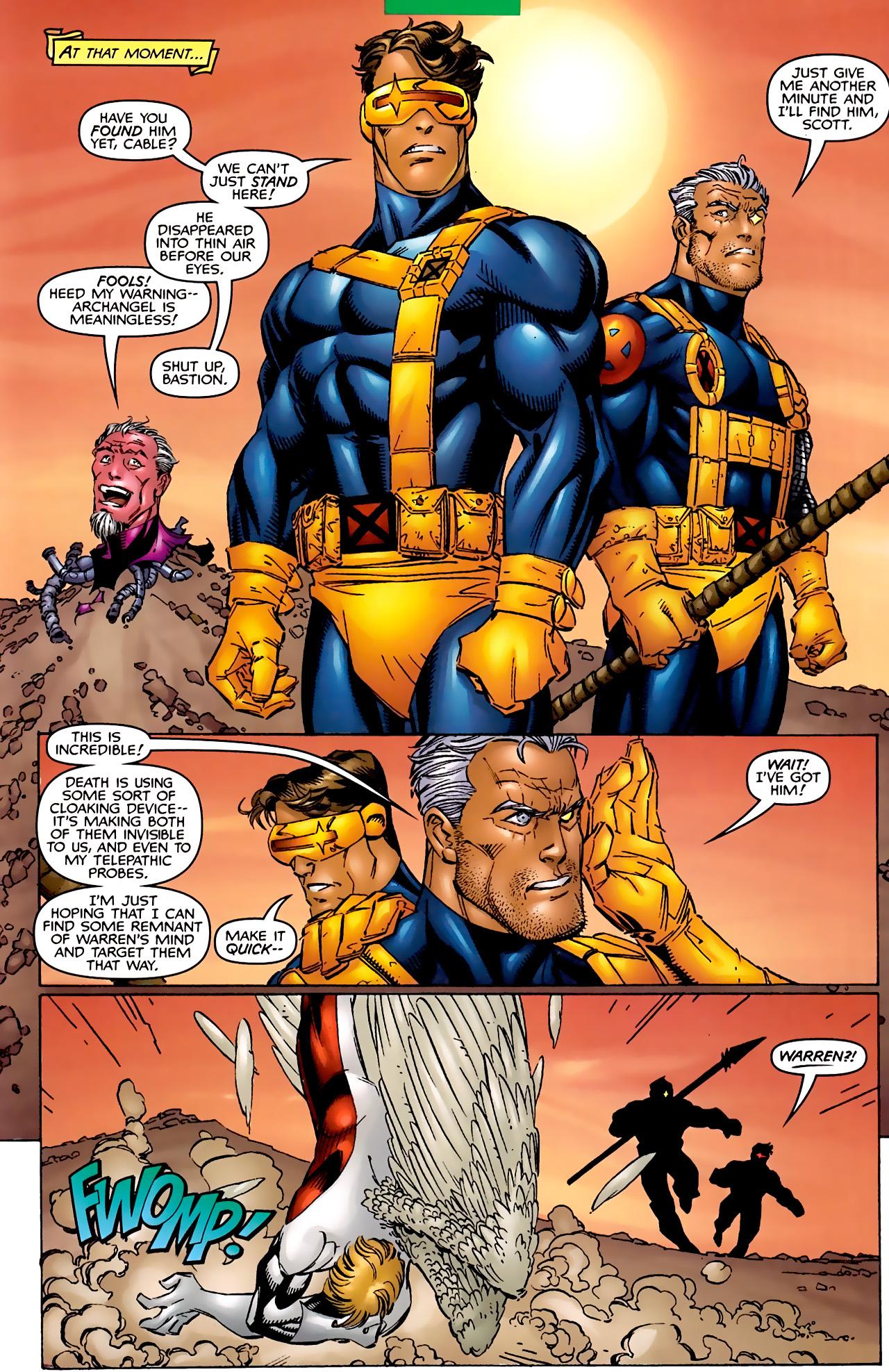 Read online Astonishing X-Men (1999) comic -  Issue #2 - 16