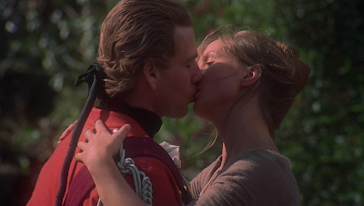 barry lyndon, Ryan O'Neal, intimate/kiss scene, directed by stanley kubrick