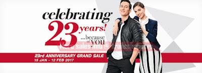 KL Sogo 23rd Anniversary Grand Sale