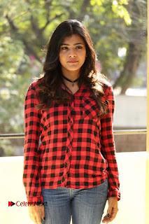 Actress Hebah Patel Stills in Blue Denim Jeans at Nanna Nenu Naa Boyfriends Movie Success Meet  0039.JPG
