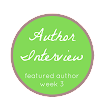 Author Interview (Featured Author Week 3)