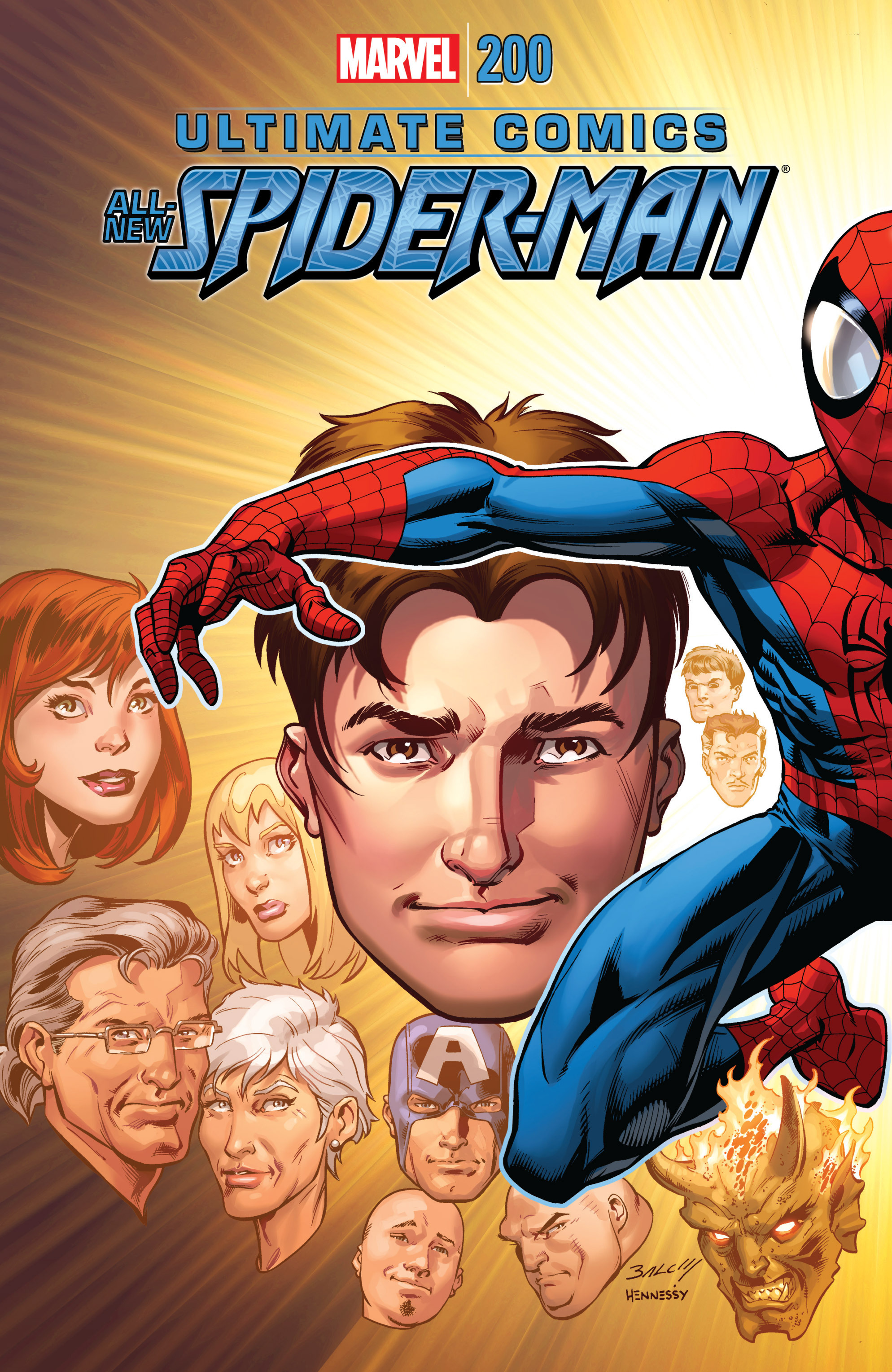 Read online Ultimate Comics Spider-Man (2011) comic -  Issue #200 - 1
