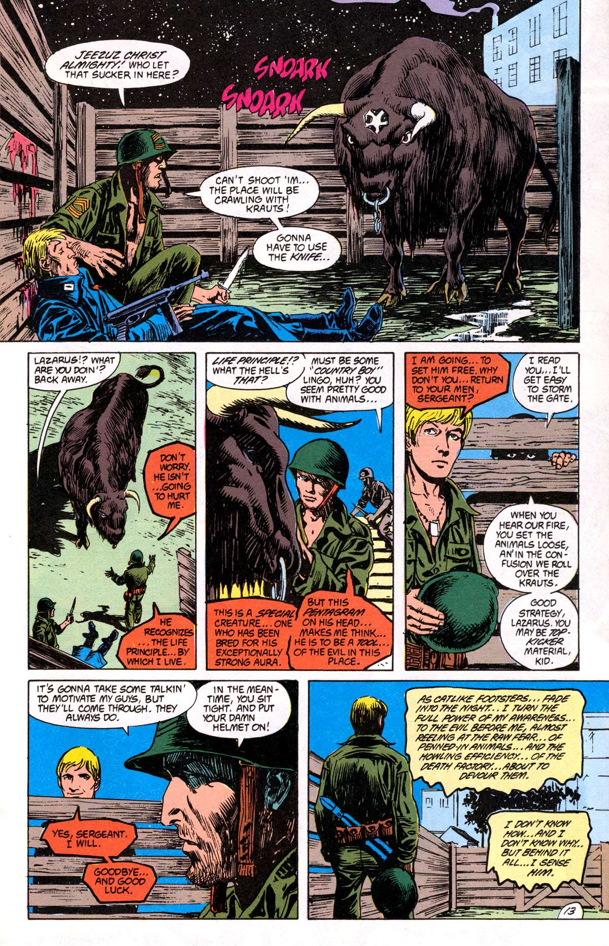 Swamp Thing (1982) Issue #82 #90 - English 14