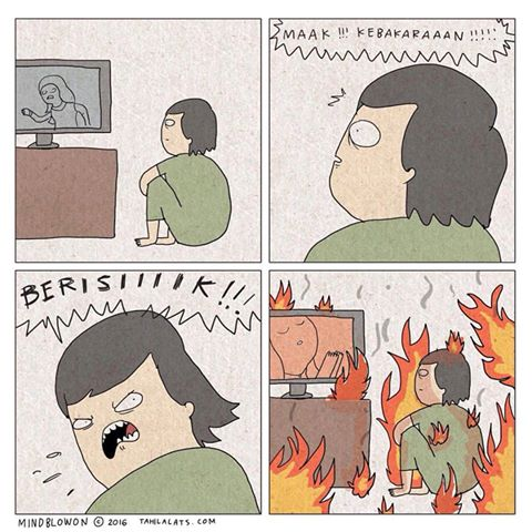 Kumpulan Komik Strip Lucu Tahilalats #8