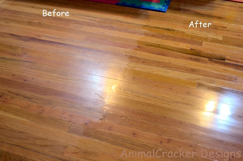 The Other Sink Diy Wood Floor Oil
