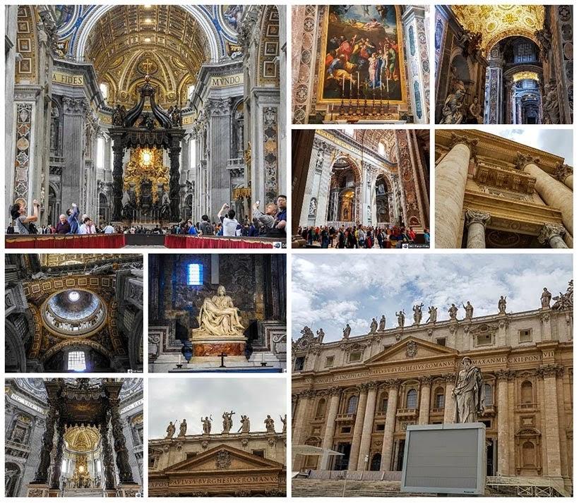 Basílica São Pedro - Diário de Bordo: 3 dias em Roma