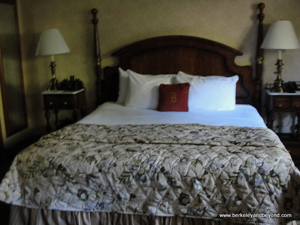 guest room at Benbow Historic Inn in Garberville, California
