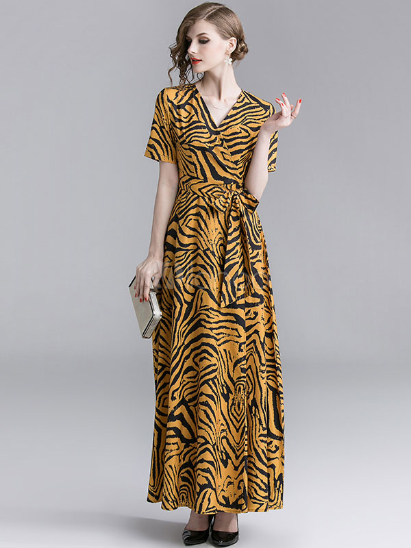 278695d492dc Leopard Print Maxi Dresses - nana shopping