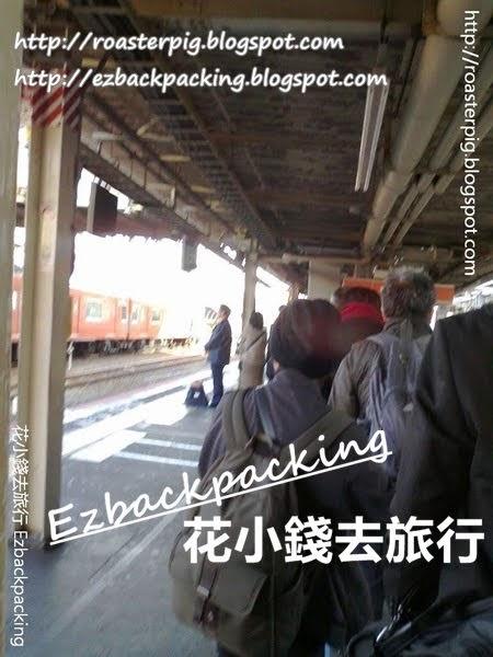 JR天王寺站月台