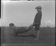 Children Playing Barefoot