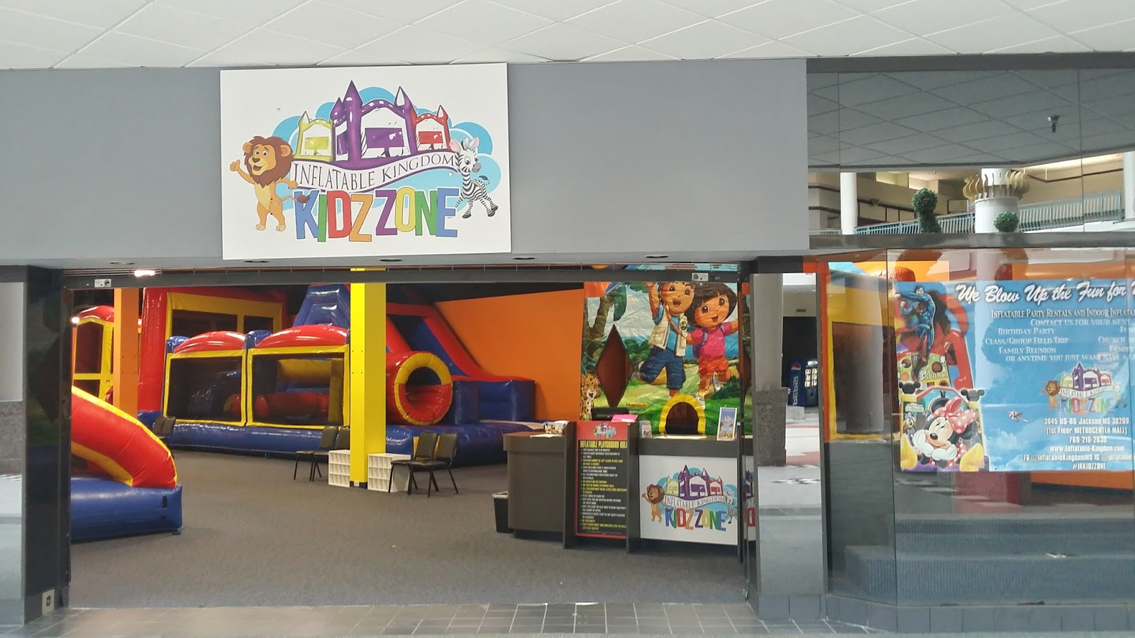 Kidz Zone Is Not Only For Birthday Parties But Every Day Fun Bring The Kiddos By Our Open Play Time Your Little One Able To