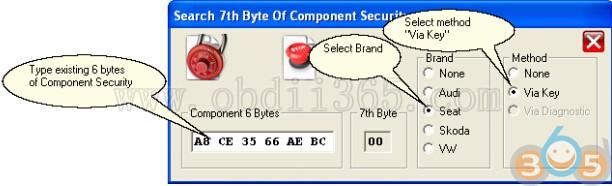 How to Write VAG Megamos48 CS 7th Byte with TANGO V1 112 - OBD2