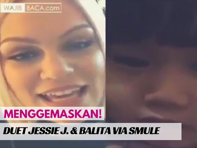 Menggemaskan! Duet Lucu Jessie J. dengan Seorang Balita Menyanyikan Flashlight