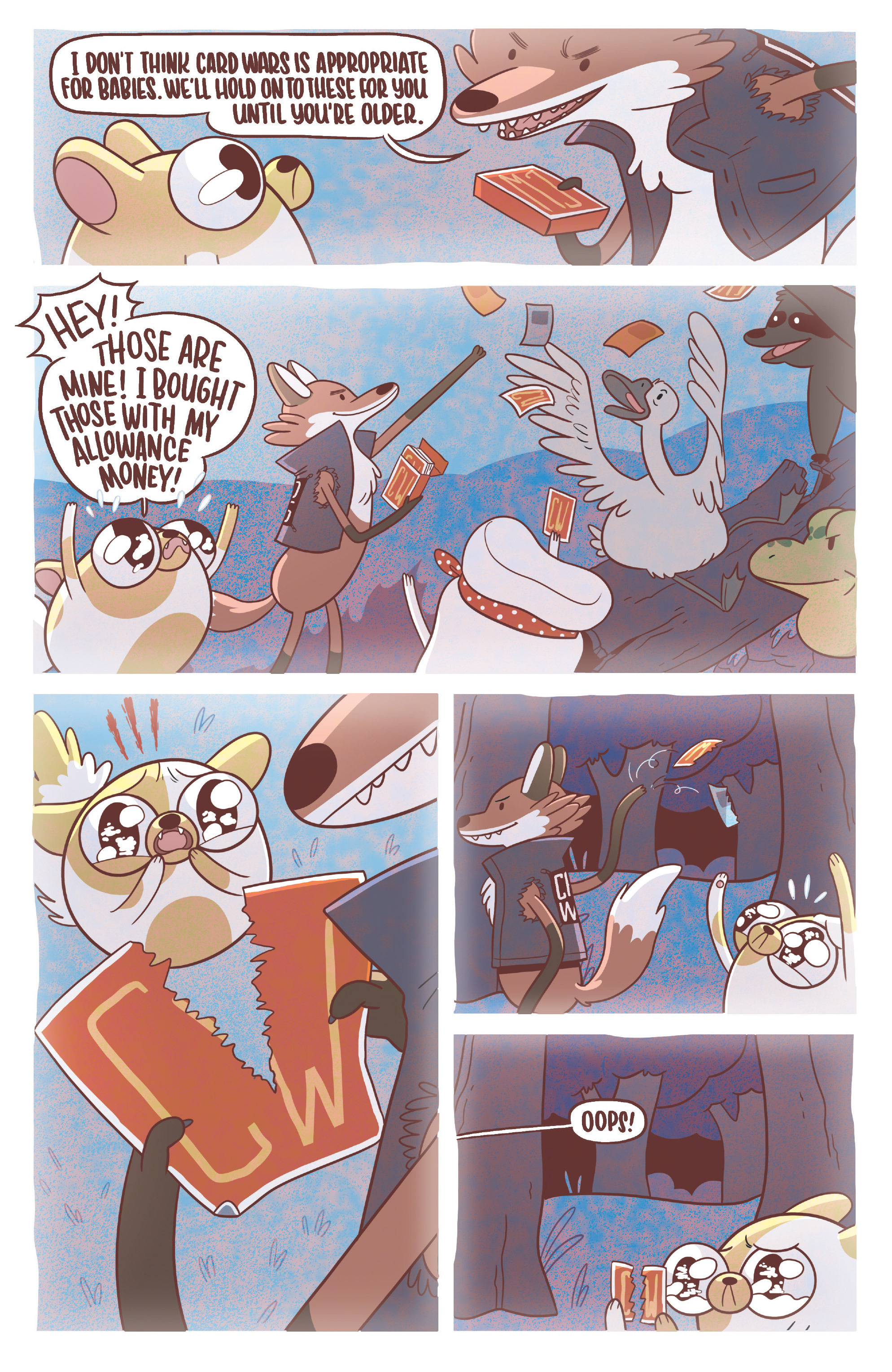 Read online Adventure Time Fionna and Cake Card Wars comic -  Issue #3 - 4