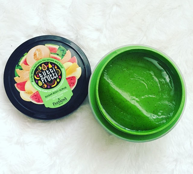 Tutti Frutti Body Scrub Melon Sugar de Farmona