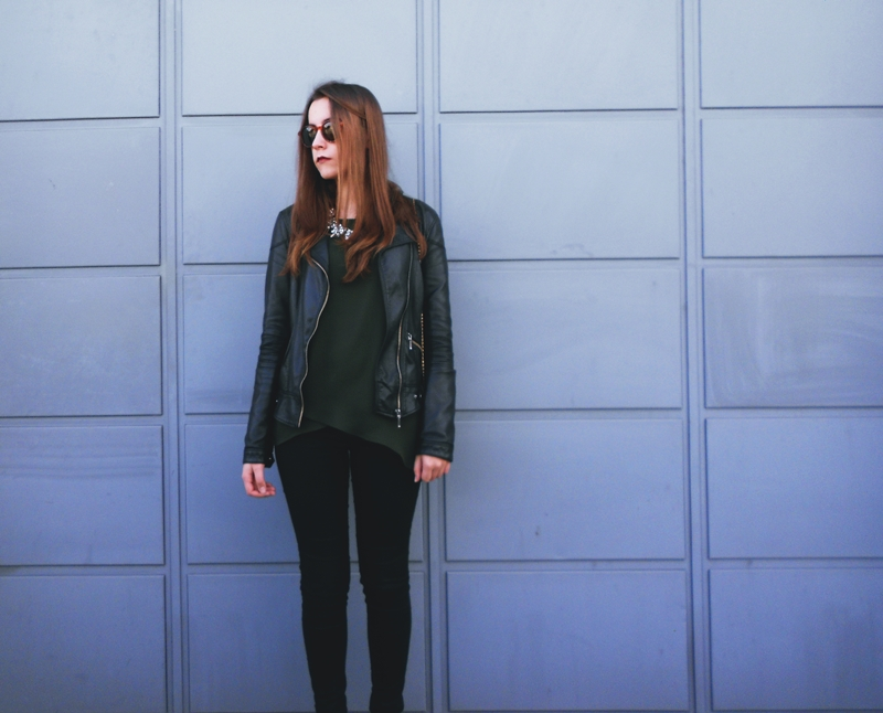 Outfit | Green and Black