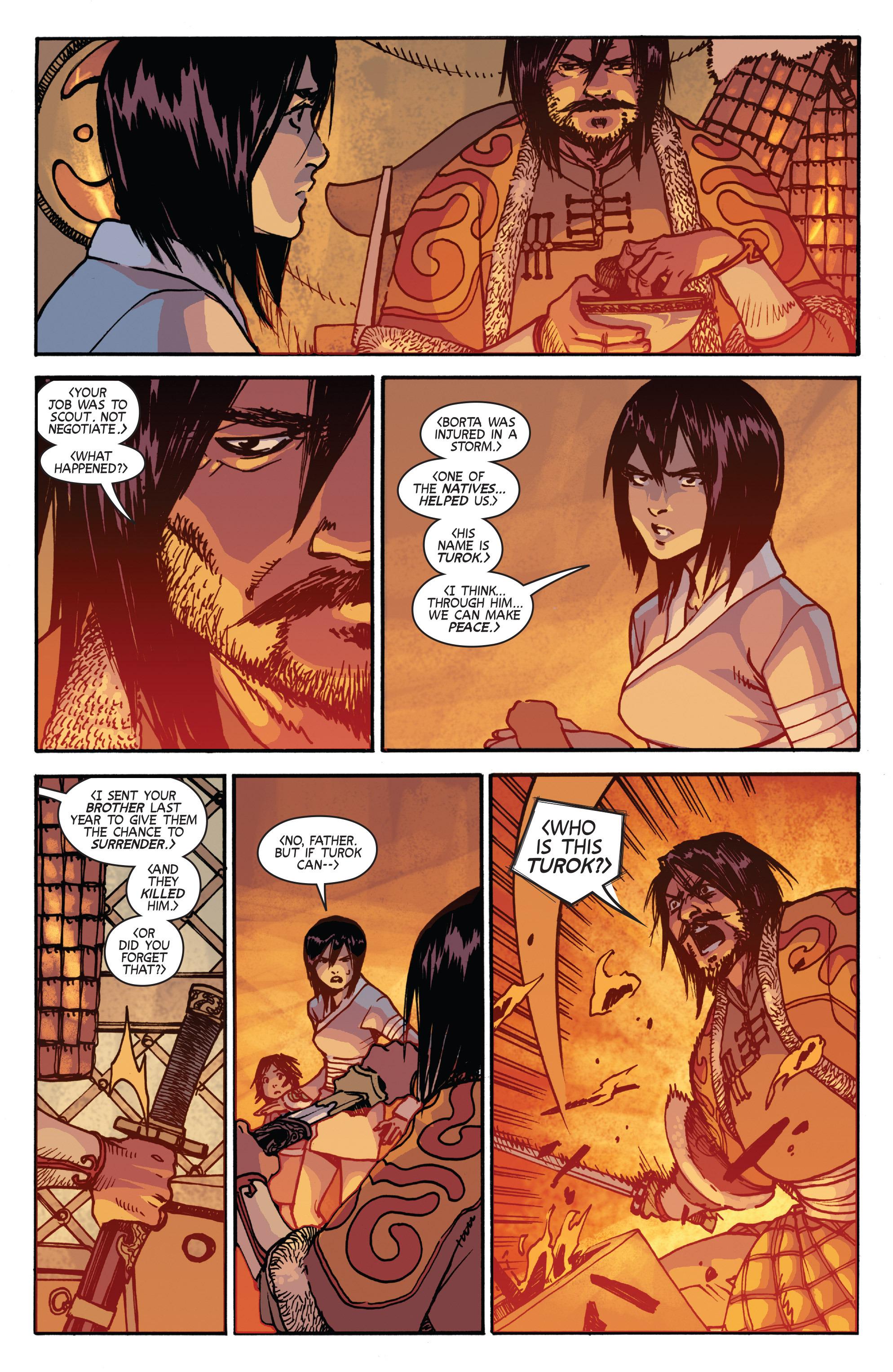 Read online Turok: Dinosaur Hunter (2014) comic -  Issue # _TPB 2 - 55