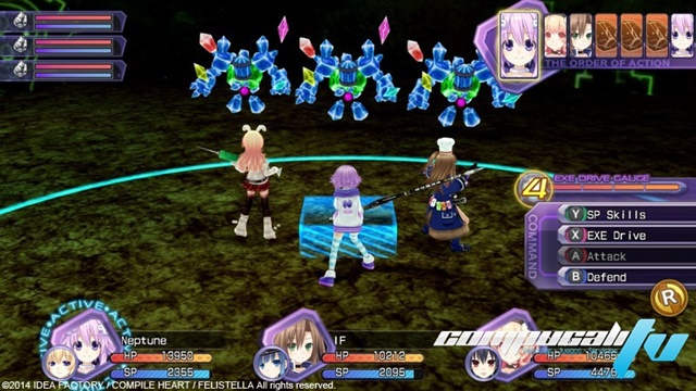 Hyperdimension Neptunia Re Birth1 PC Full