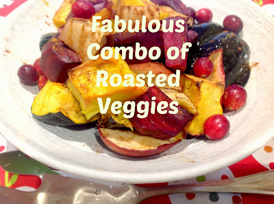 roasted beets and acorn squash