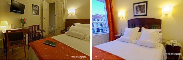 Apartamento do Hotel Aliados, na Cidade do Porto, Portugal