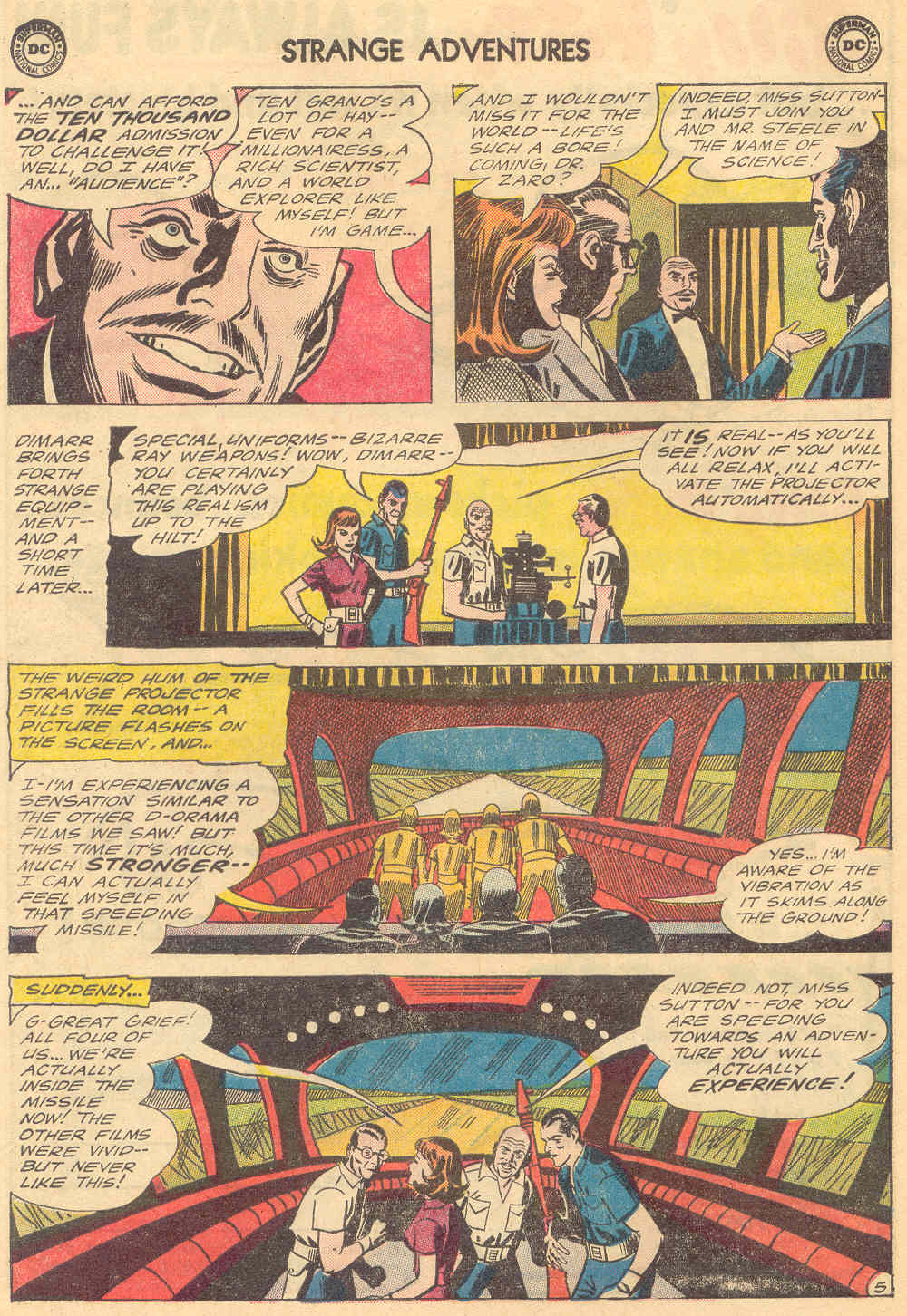 Strange Adventures (1950) issue 173 - Page 8