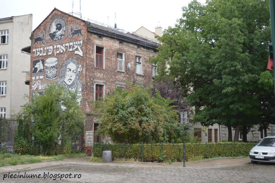 Cartierul evreiesc din Cracovia
