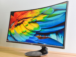 "ASUS Designo Curve MX34VQ 34"" Curved UWQHD Monitor Drivers Download For Windows 10, 8.1 and 7 (32&64bit)"