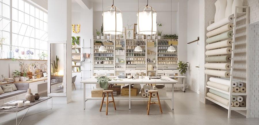 estilo nordico, interiorismo, barcelona, espejo, diy, mesa, espacio de trabajo, lamparas estilo nordico, lamparas de lino, z11, diy, letras con luces, alquimia deco