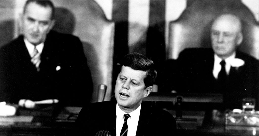 the political legacy of president john f Seven months later, president john f kennedy delivered the speech,  a strategy of peace, at american university he called for a nuclear test ban treaty, which would suspend all atmospheric testing of nuclear weapons.